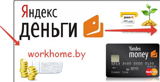 Регистрация Яндекс Деньги Беларусь
